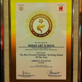 Indonesia Best of the best award 2015 at Santika Dyandra Hotel Medan